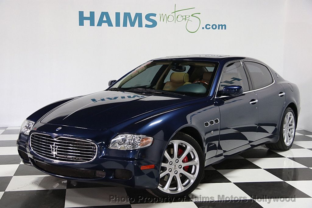 2008 used maserati quattroporte at haims motors serving fort lauderdale hollywood miami fl. Black Bedroom Furniture Sets. Home Design Ideas