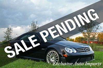 2008 Mercedes-Benz CLK63 2dr Cpe 6.3L AMG Black Series Coupe