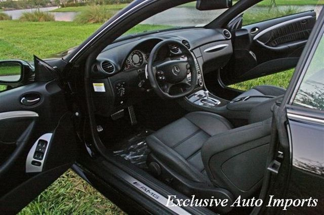 2008 Mercedes-Benz  CLK63 2dr Cpe 6.3L AMG Black Series - Click to see full-size photo viewer