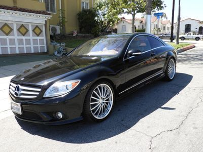 2008 Mercedes-Benz CL-Class CL550 2dr Coupe 5.5L V8