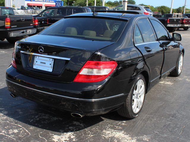 2008 Mercedes Benz C Class C300 4dr Sedan 3.0L Luxury RWD   Click