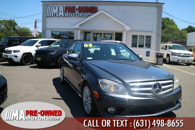 2008 Used Mercedes-Benz C-Class C300 4dr Sedan 3 0L Sport 4MATIC at WeBe  Autos Serving Long Island, NY, IID 17232626