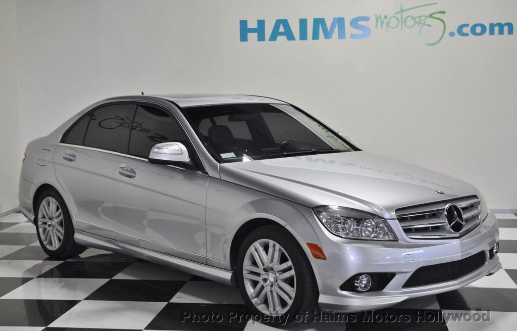 2008 used mercedes benz c class c300 4dr sedan 3 0l sport rwd at haims motors serving fort. Black Bedroom Furniture Sets. Home Design Ideas