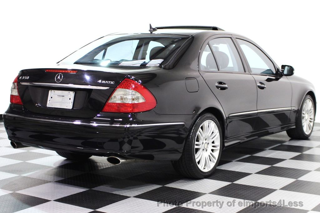 2008 used mercedes benz e class certified e350 4matic sport awd sedan navigation at. Black Bedroom Furniture Sets. Home Design Ideas