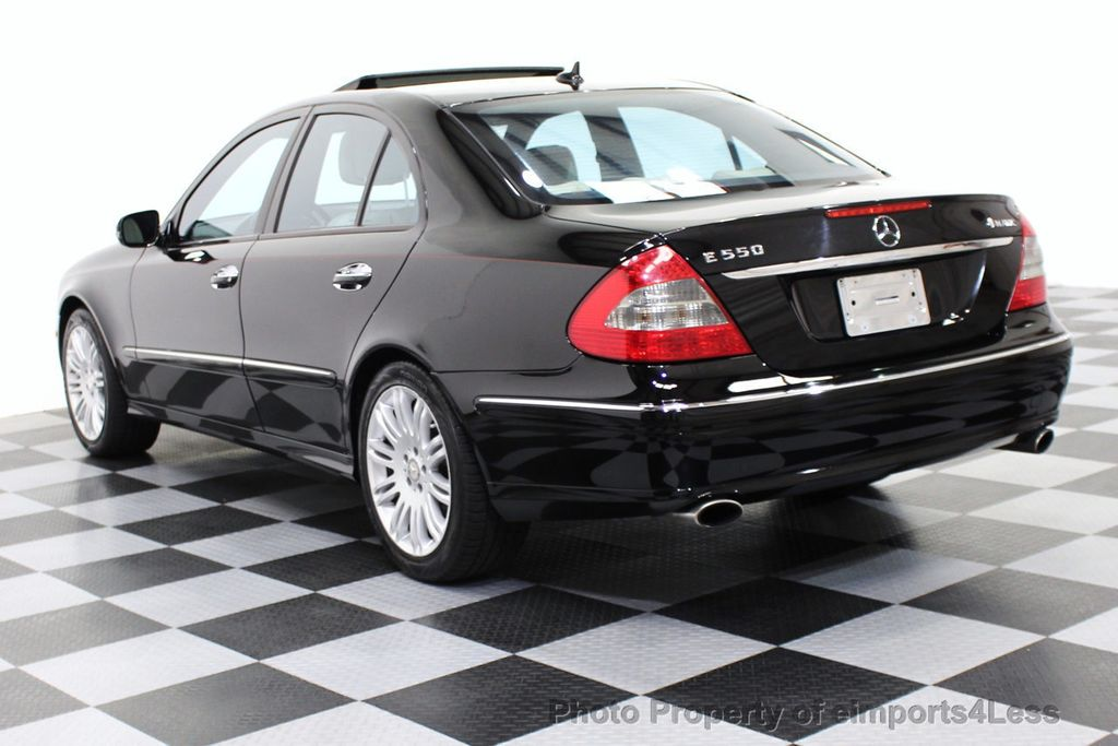 2008 Mercedes Benz E Cl Certified E550 4matic Awd V8 Sport Sedan Navigation