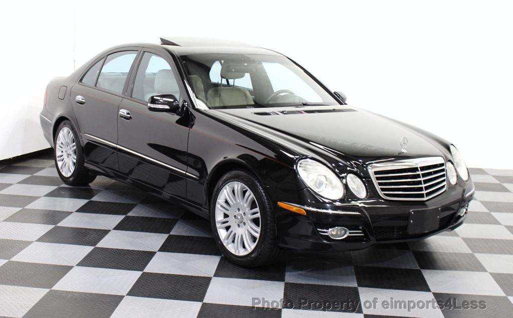 2008 used mercedes benz e class certified e550 4matic awd. Black Bedroom Furniture Sets. Home Design Ideas