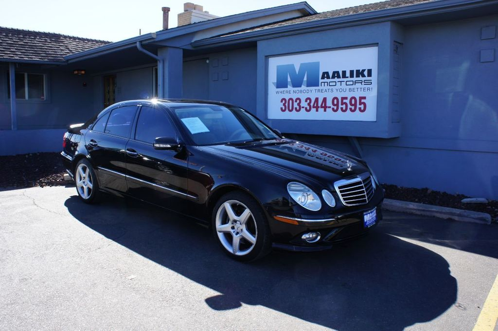 2008 Mercedes-Benz E-Class E350 4dr Sedan Sport 3.5L 4MATIC - 18614537 - 0