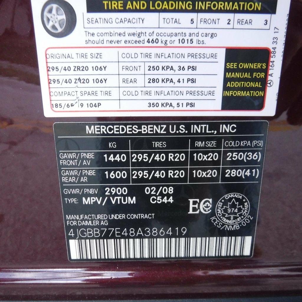 2008 Mercedes-Benz M-Class 4MATIC 4dr 6.3L AMG - 18602976 - 75