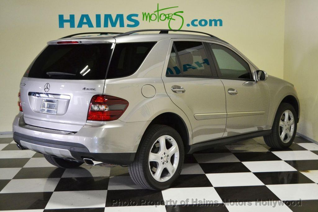 2008 Used Mercedes Benz M Class Ml350 4matic 4dr 3 5l At