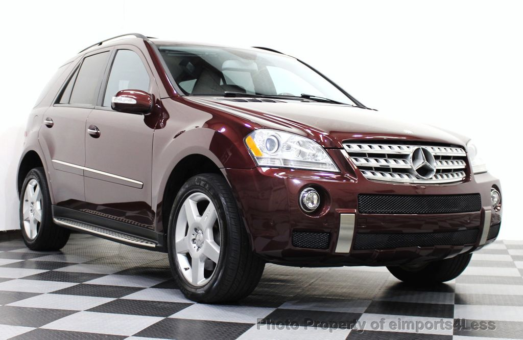 2008 used mercedes benz ml550 v8 4matic awd amg sport
