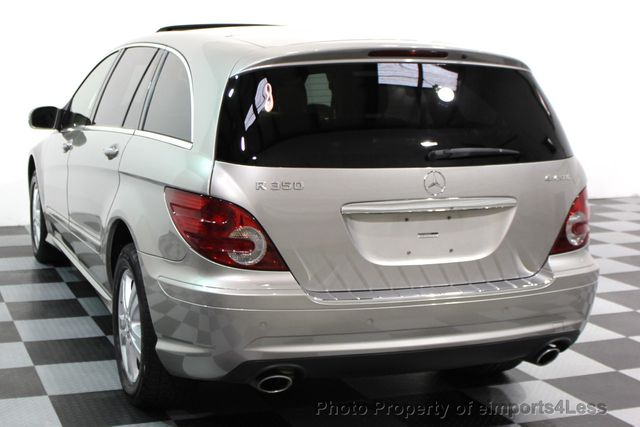 2008 used mercedes benz r class r350 4matic awd 7 for Mercedes benz 7 passenger