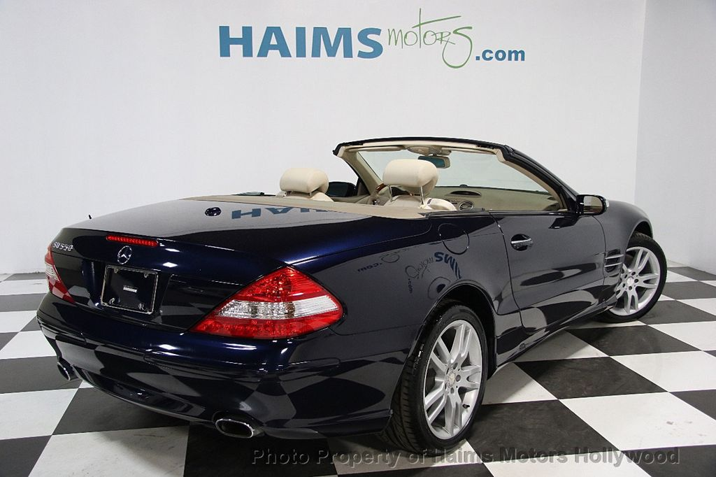 2008 used mercedes benz sl class sl550 2dr roadster 5 5l v8 at haims motors serving fort. Black Bedroom Furniture Sets. Home Design Ideas