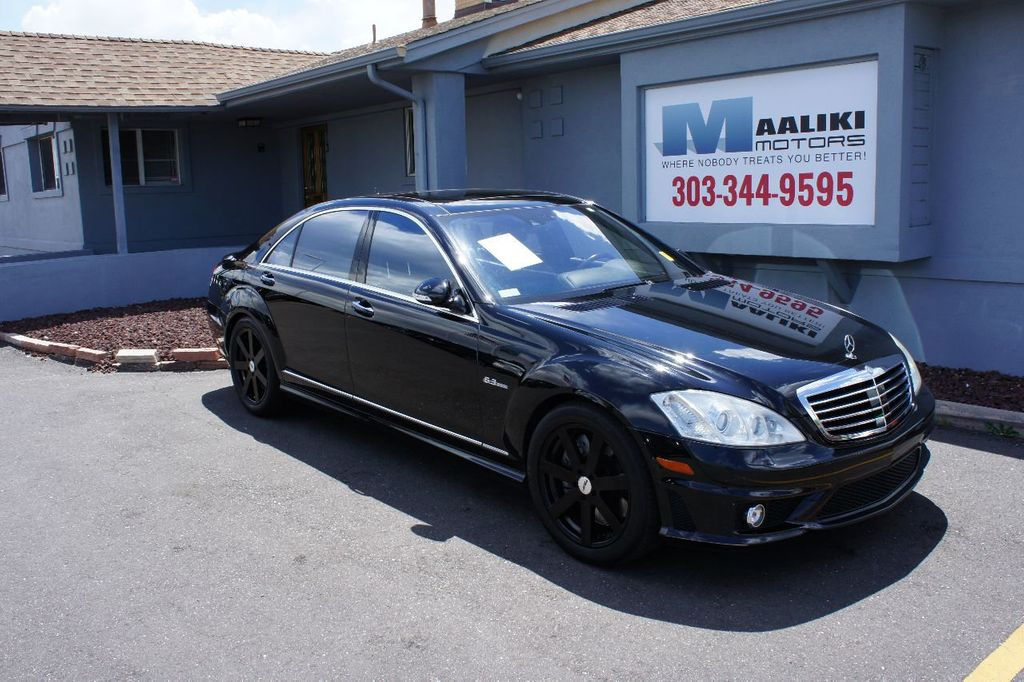 2008 Mercedes-Benz S-Class 4dr Sedan 6.3L V8 AMG RWD - 17546222 - 0