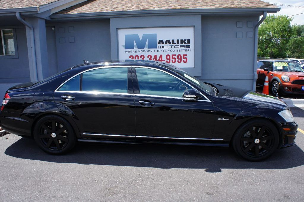 2008 Mercedes-Benz S-Class 4dr Sedan 6.3L V8 AMG RWD - 17546222 - 2