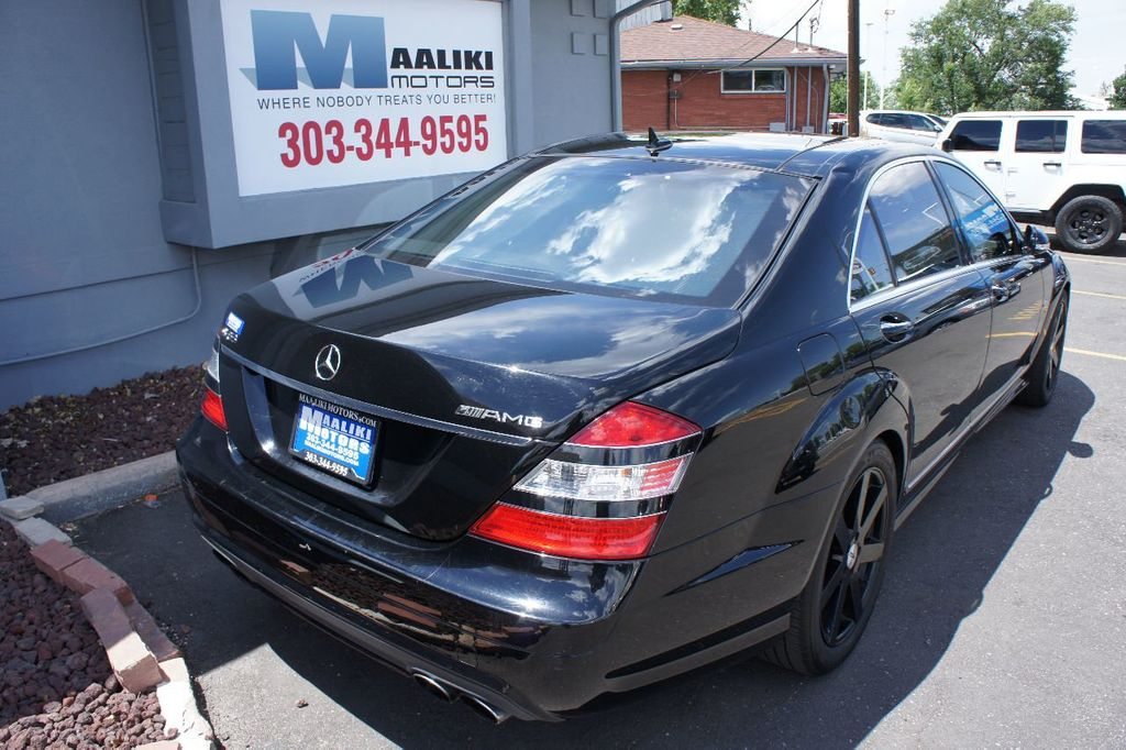 2008 Mercedes-Benz S-Class 4dr Sedan 6.3L V8 AMG RWD - 17546222 - 3