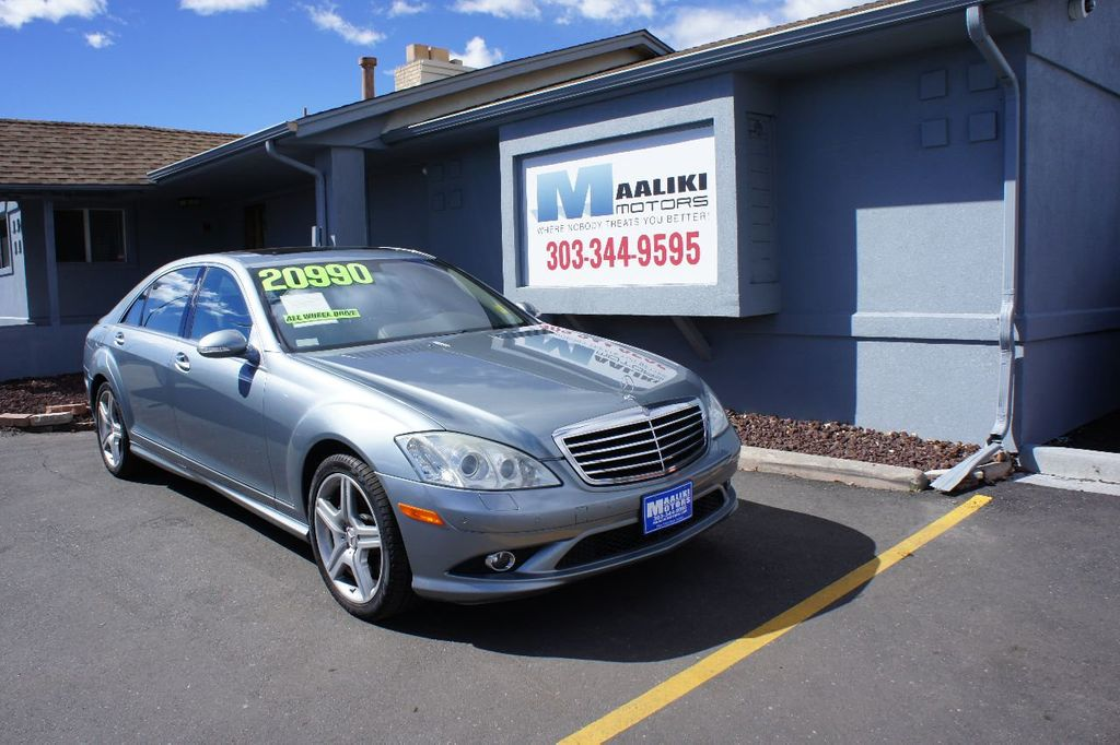 2008 Mercedes-Benz S-Class S550 4dr Sedan 5.5L V8 4MATIC - 16799735 - 0