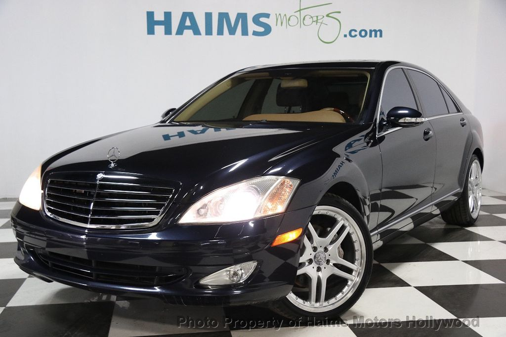 2008 used mercedes benz s class s550 4dr sedan 5 5l v8 rwd for Used s550 mercedes benz