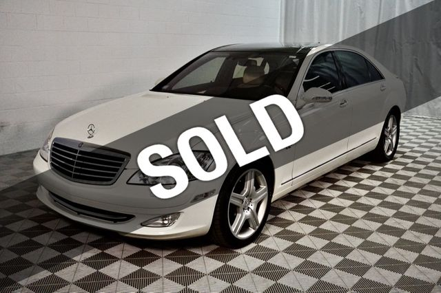 2008 Mercedes-Benz S-Class S600 4dr Sedan 5.5L V12 RWD