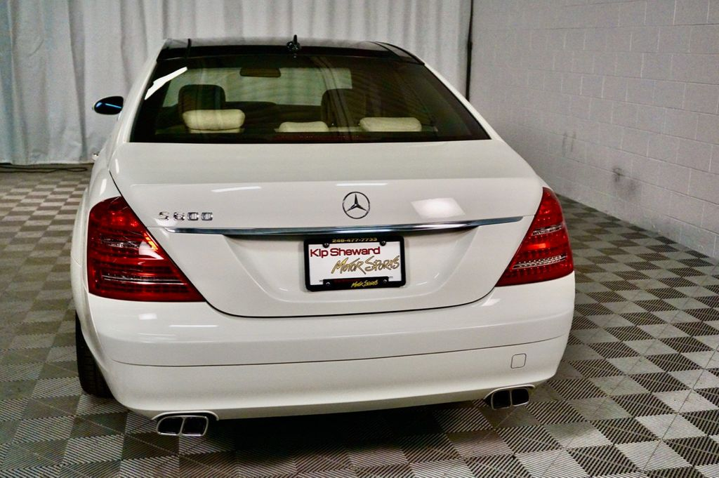 2008 Mercedes-Benz S-Class S600 4dr Sedan 5.5L V12 RWD - 17432385 - 6