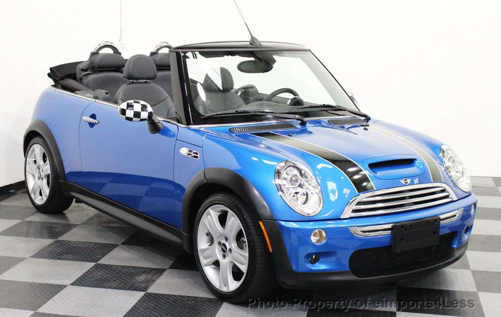 2008 Mini Cooper S Convertible Certified 6 Sd 14628315 1