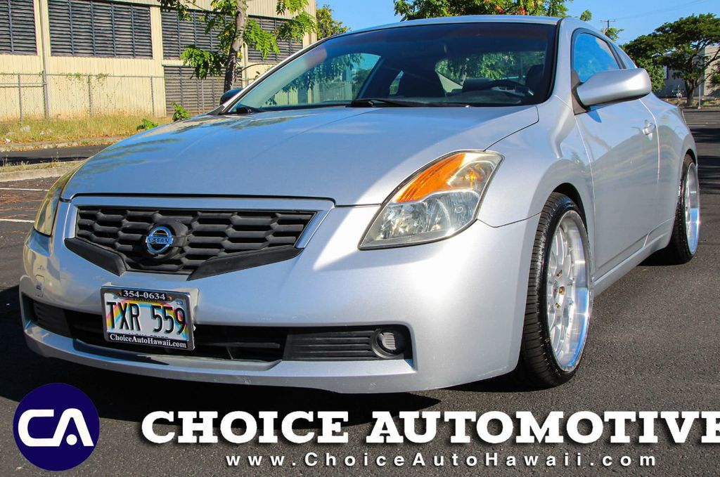 2008 Used Nissan Altima 2dr Coupe I4 Manual 2 5 S At Choice Automotive Serving Honolulu Hi Iid 20244532