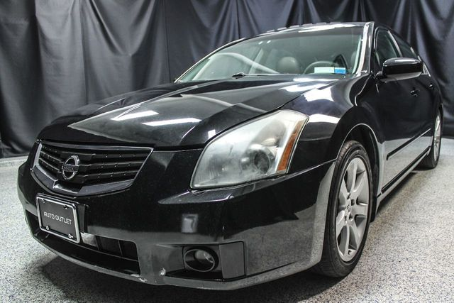 2008 Used Nissan Maxima 4dr Sedan CVT 3 5 SE at Auto Outlet Serving  Elizabeth, NJ, IID 16629874