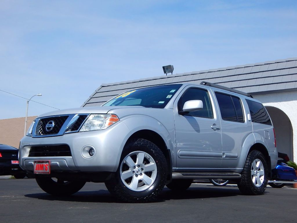 Jims Auto Sales >> 2008 Used Nissan Pathfinder 2WD 4dr V6 SE at Jim's Auto Sales Serving Harbor City, CA, IID 16196474