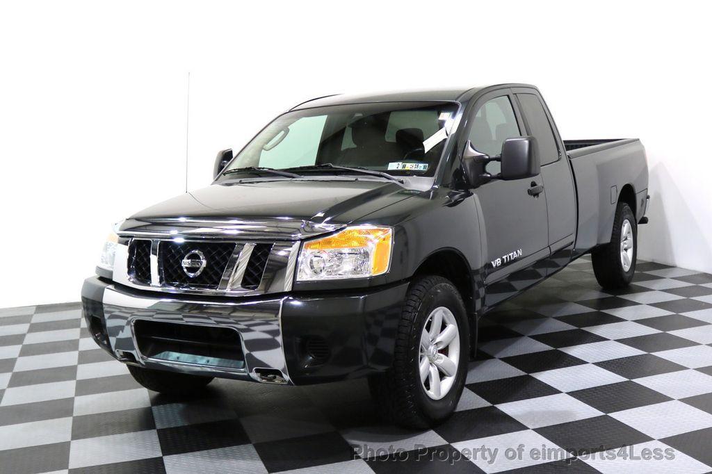 2008 Nissan Titan TITAN SE 5.6L V8 4WD ECXTENDED CAB LONG BED - 17323854 - 0