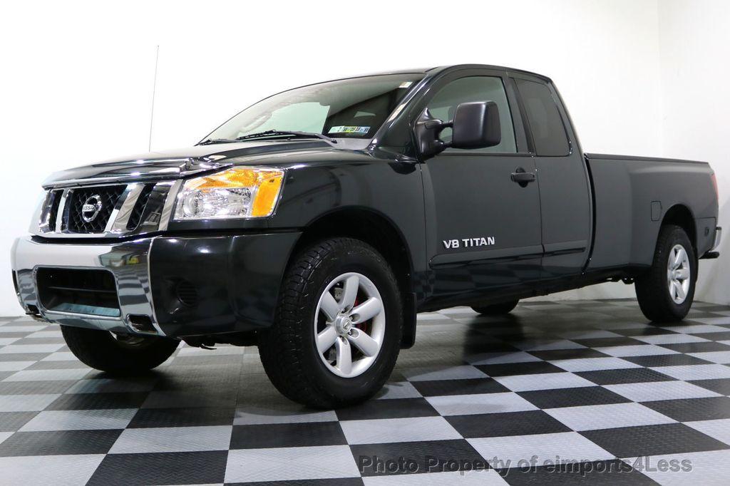 2008 Nissan Titan TITAN SE 5.6L V8 4WD ECXTENDED CAB LONG BED - 17323854 - 12