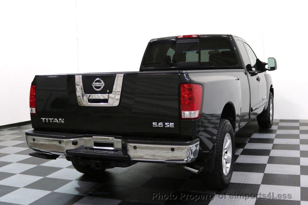 2008 Nissan Titan TITAN SE 5.6L V8 4WD ECXTENDED CAB LONG BED - 17323854 - 16