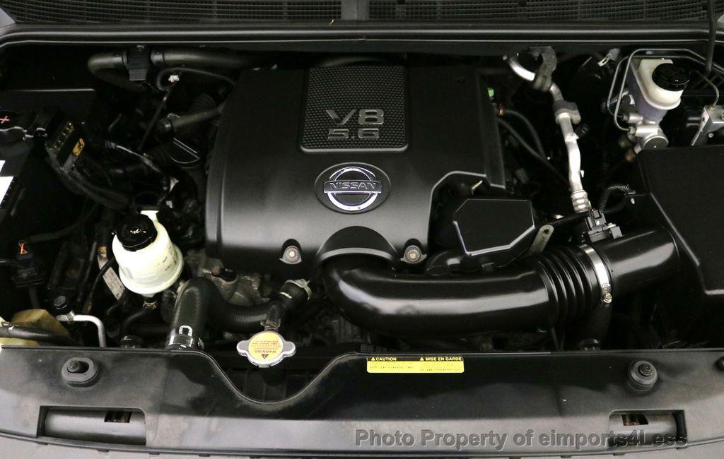 2008 Nissan Titan TITAN SE 5.6L V8 4WD ECXTENDED CAB LONG BED - 17323854 - 18