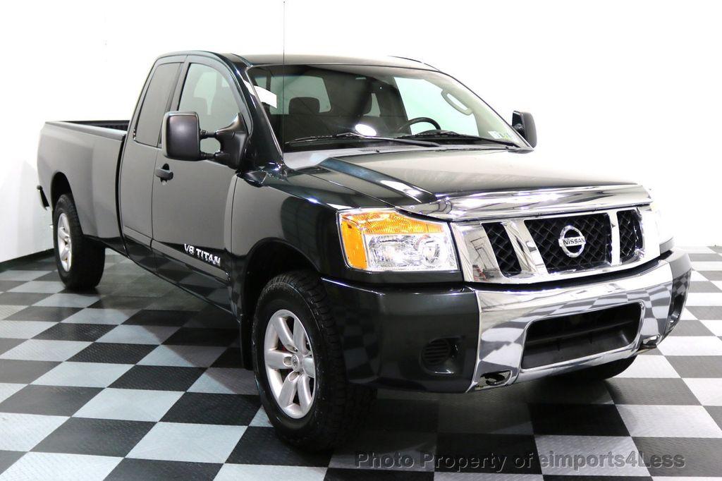 2008 Nissan Titan TITAN SE 5.6L V8 4WD ECXTENDED CAB LONG BED - 17323854 - 1