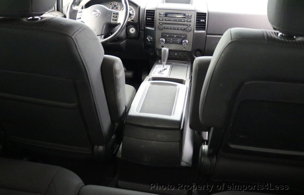 2008 Nissan Titan TITAN SE 5.6L V8 4WD ECXTENDED CAB LONG BED - 17323854 - 22