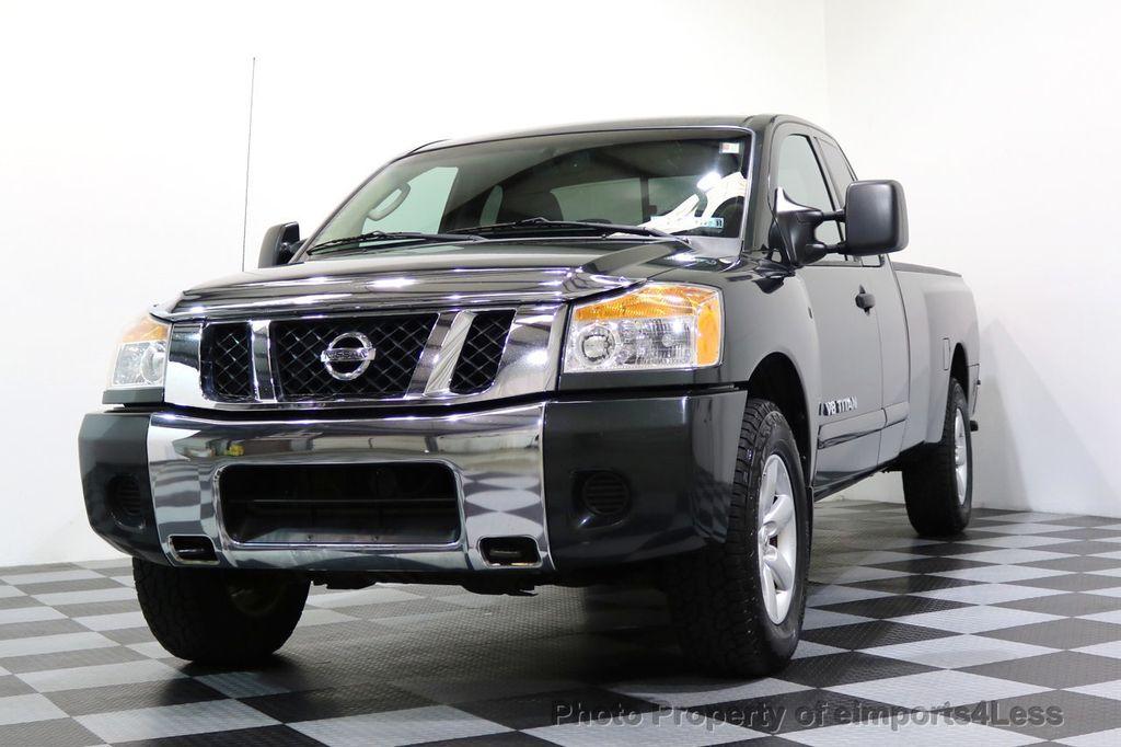 2008 Nissan Titan TITAN SE 5.6L V8 4WD ECXTENDED CAB LONG BED - 17323854 - 24