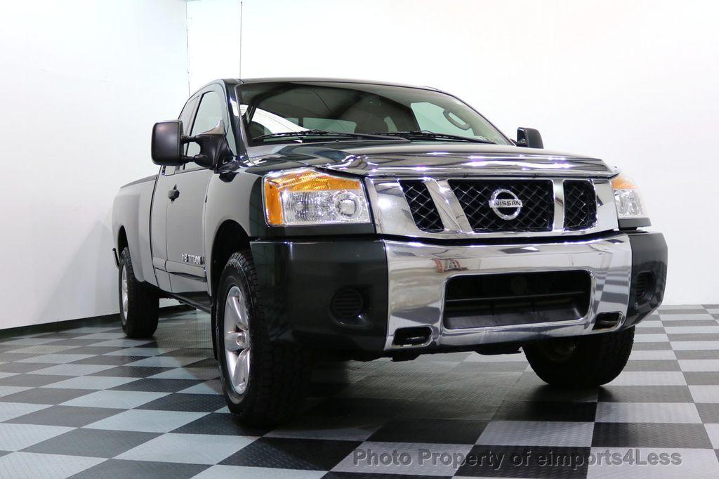 2008 Nissan Titan TITAN SE 5.6L V8 4WD ECXTENDED CAB LONG BED - 17323854 - 25