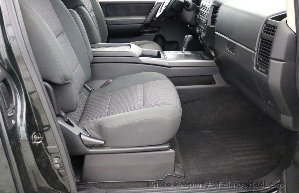 2008 Nissan Titan TITAN SE 5.6L V8 4WD ECXTENDED CAB LONG BED - 17323854 - 28