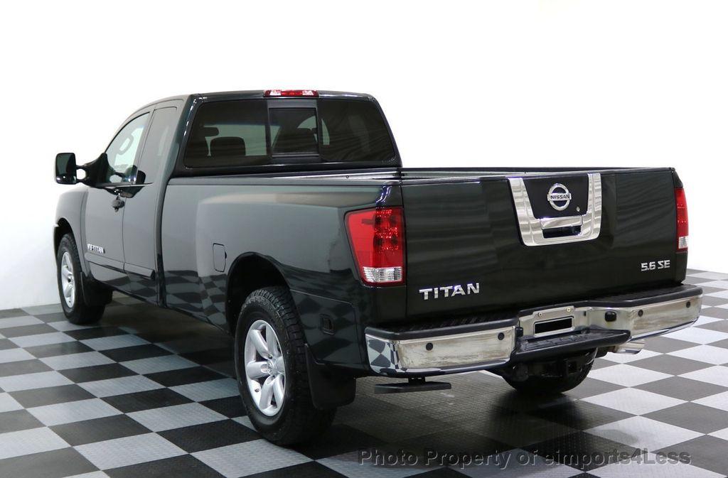 2008 Nissan Titan TITAN SE 5.6L V8 4WD ECXTENDED CAB LONG BED - 17323854 - 2