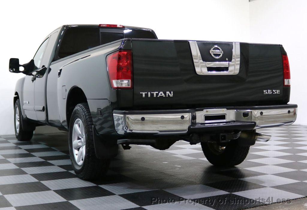 2008 Nissan Titan TITAN SE 5.6L V8 4WD ECXTENDED CAB LONG BED - 17323854 - 36