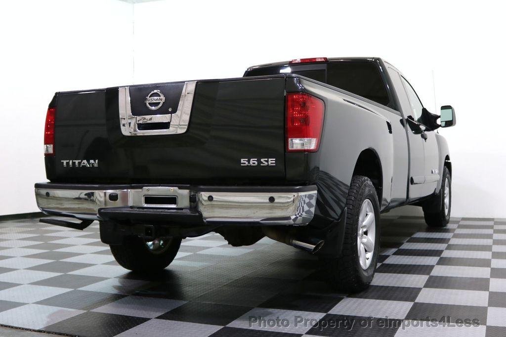 2008 Nissan Titan TITAN SE 5.6L V8 4WD ECXTENDED CAB LONG BED - 17323854 - 37