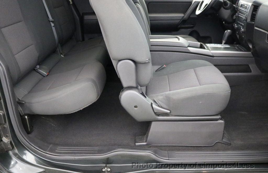 2008 Nissan Titan TITAN SE 5.6L V8 4WD ECXTENDED CAB LONG BED - 17323854 - 8