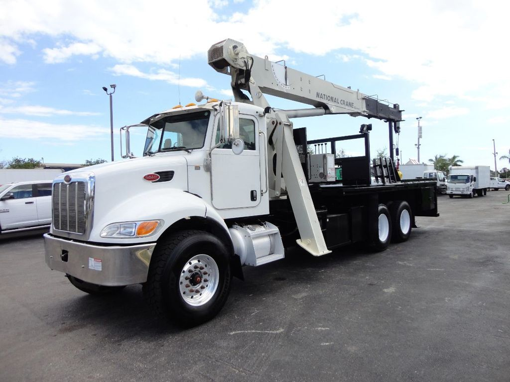 2008 Peterbilt 340 60FT MAX BOOM WITH 40K LIFT. NATIONAL 649E2 CRANE TRUCK - 17608999 - 0