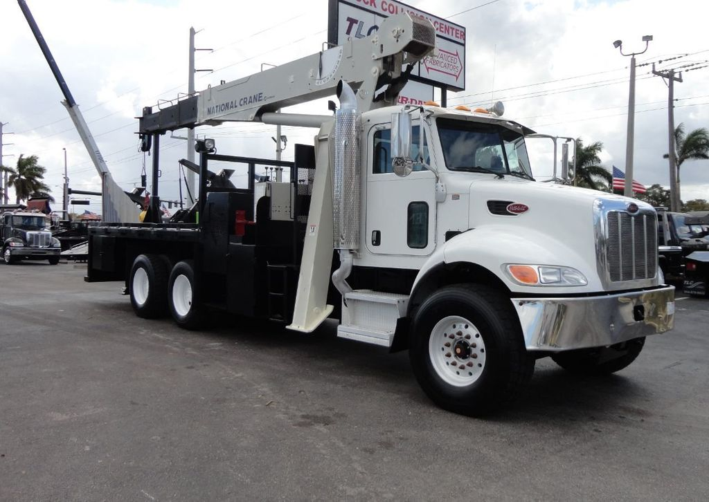 2008 Peterbilt 340 60FT MAX BOOM WITH 40K LIFT. NATIONAL 649E2 CRANE TRUCK - 17608999 - 2