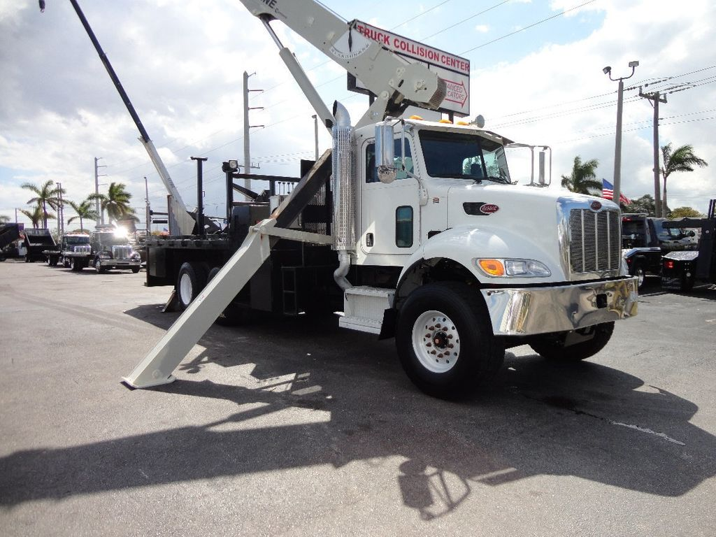 2008 Peterbilt 340 60FT MAX BOOM WITH 40K LIFT. NATIONAL 649E2 CRANE TRUCK - 17608999 - 40