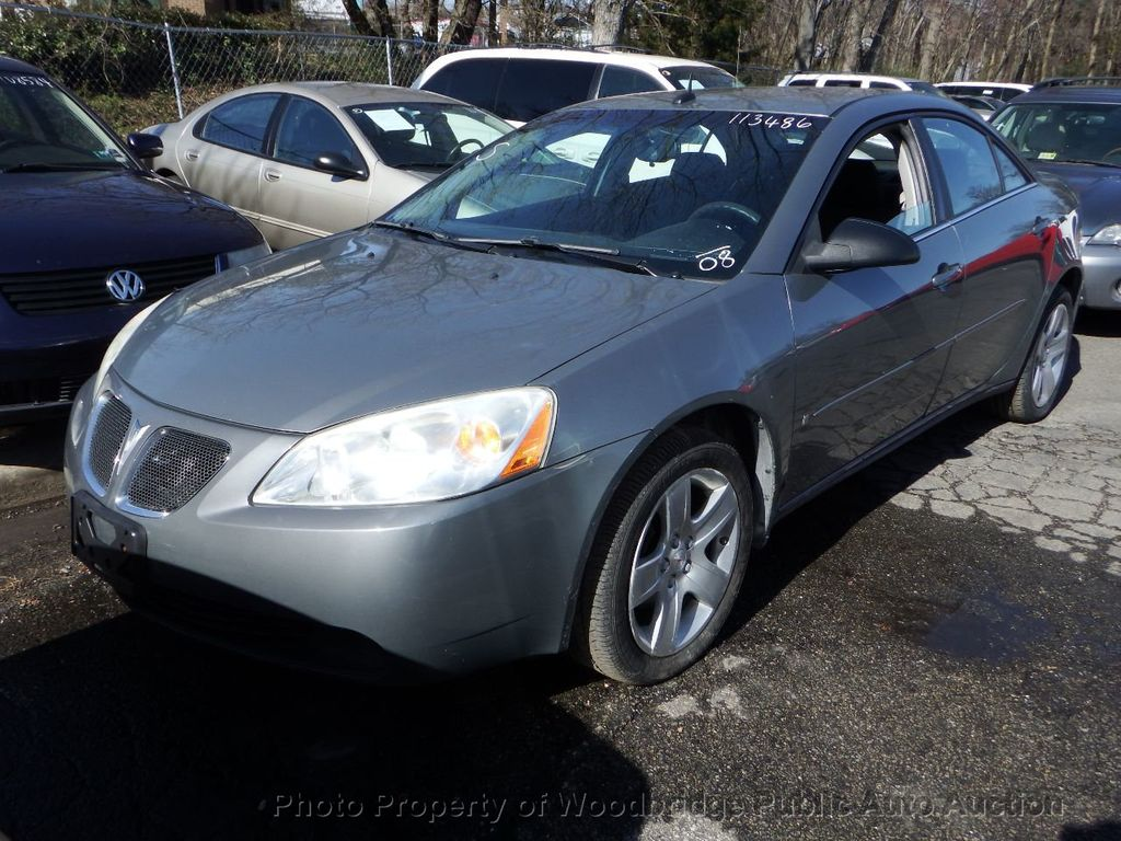 2008 Used Pontiac G6 4dr Sedan At Woodbridge Public Auto