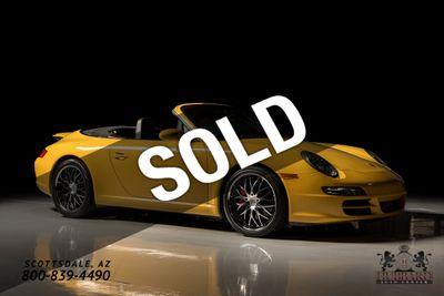 2008 Porsche 911 2dr Cabriolet Carrera S Convertible