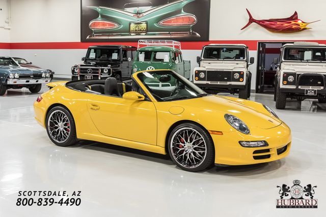 2008 Porsche 911 2dr Cabriolet Carrera S - Click to see full-size photo viewer