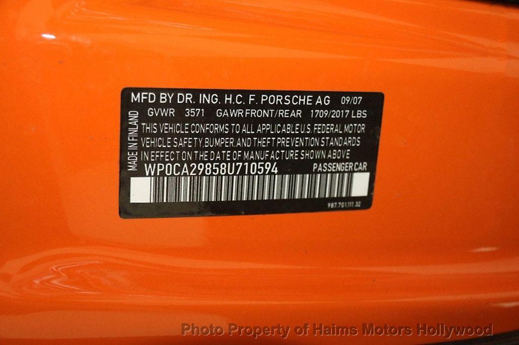 2008 Porsche Boxster  - 17263809 - 31