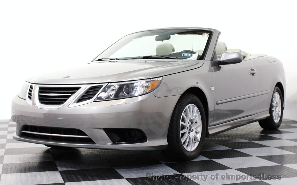 2008 used saab 9 3 9 3 turbo convertible navigation. Black Bedroom Furniture Sets. Home Design Ideas