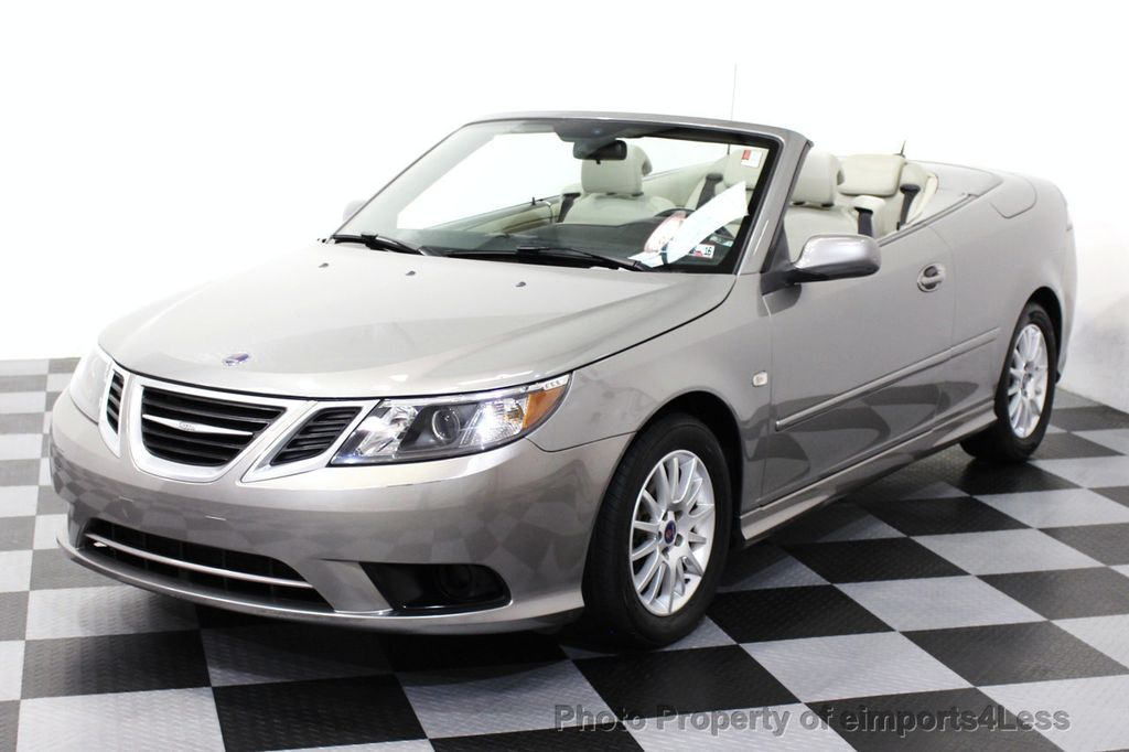 2008 used saab 9 3 9 3 turbo convertible navigation at eimports4less serving doylestown. Black Bedroom Furniture Sets. Home Design Ideas