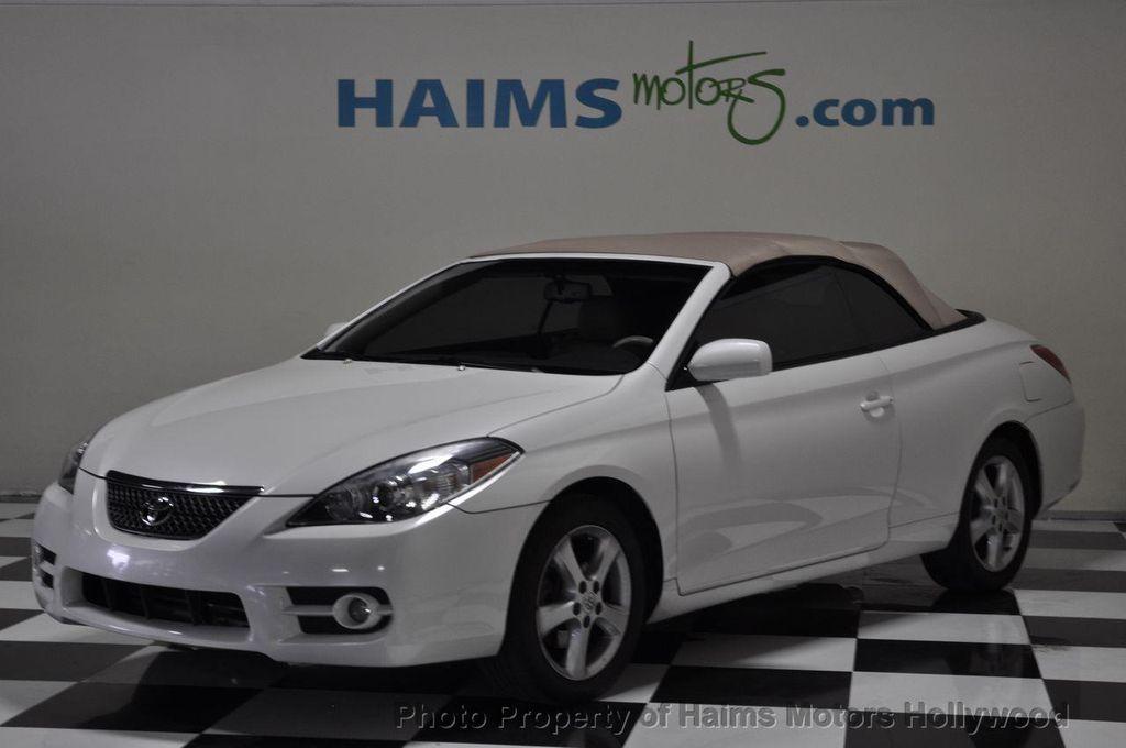 2008 Used Toyota Camry Solara 2dr Conv V6 Auto Sle At Haims Motors